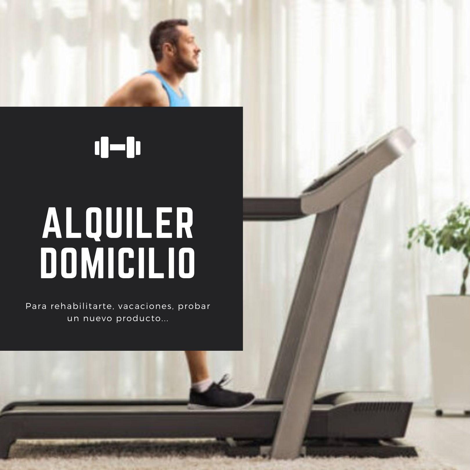 Alquiler productos fitness para casa