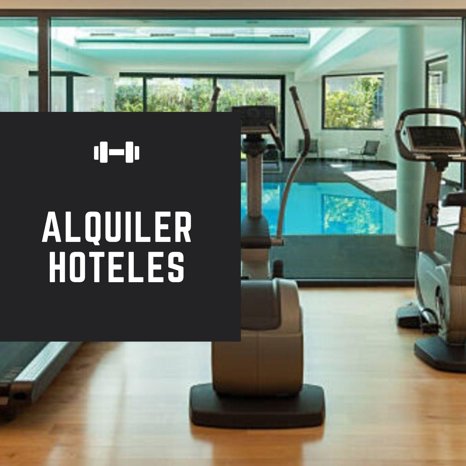 alquiler maquinas gimnasio hoteles