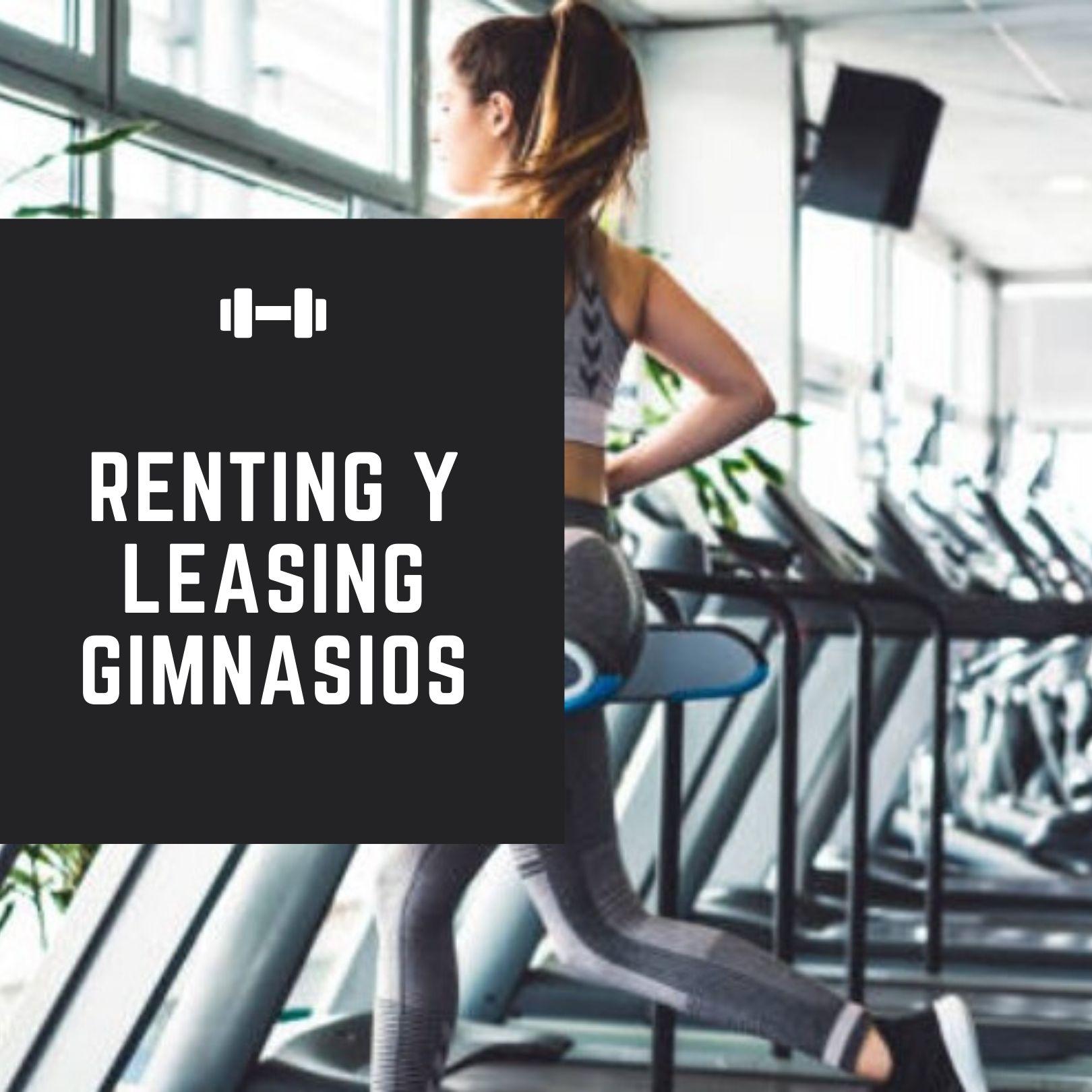 Renting y leasing maquinas de gimnasio