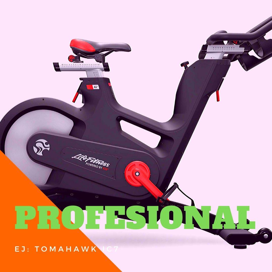 alquiler bicicleta spinning profesional