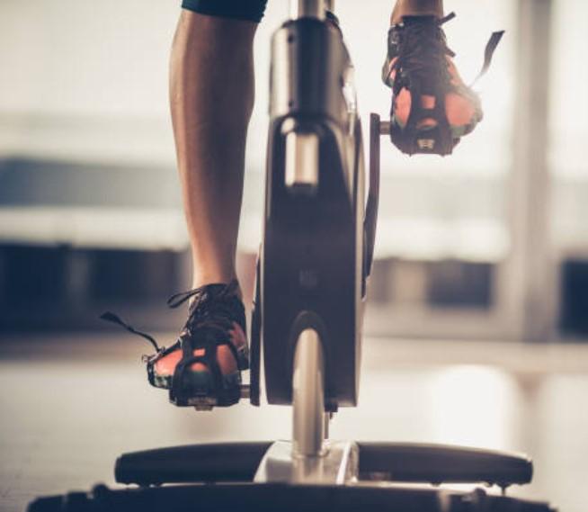 uso de una bicicleta de spinning en renting