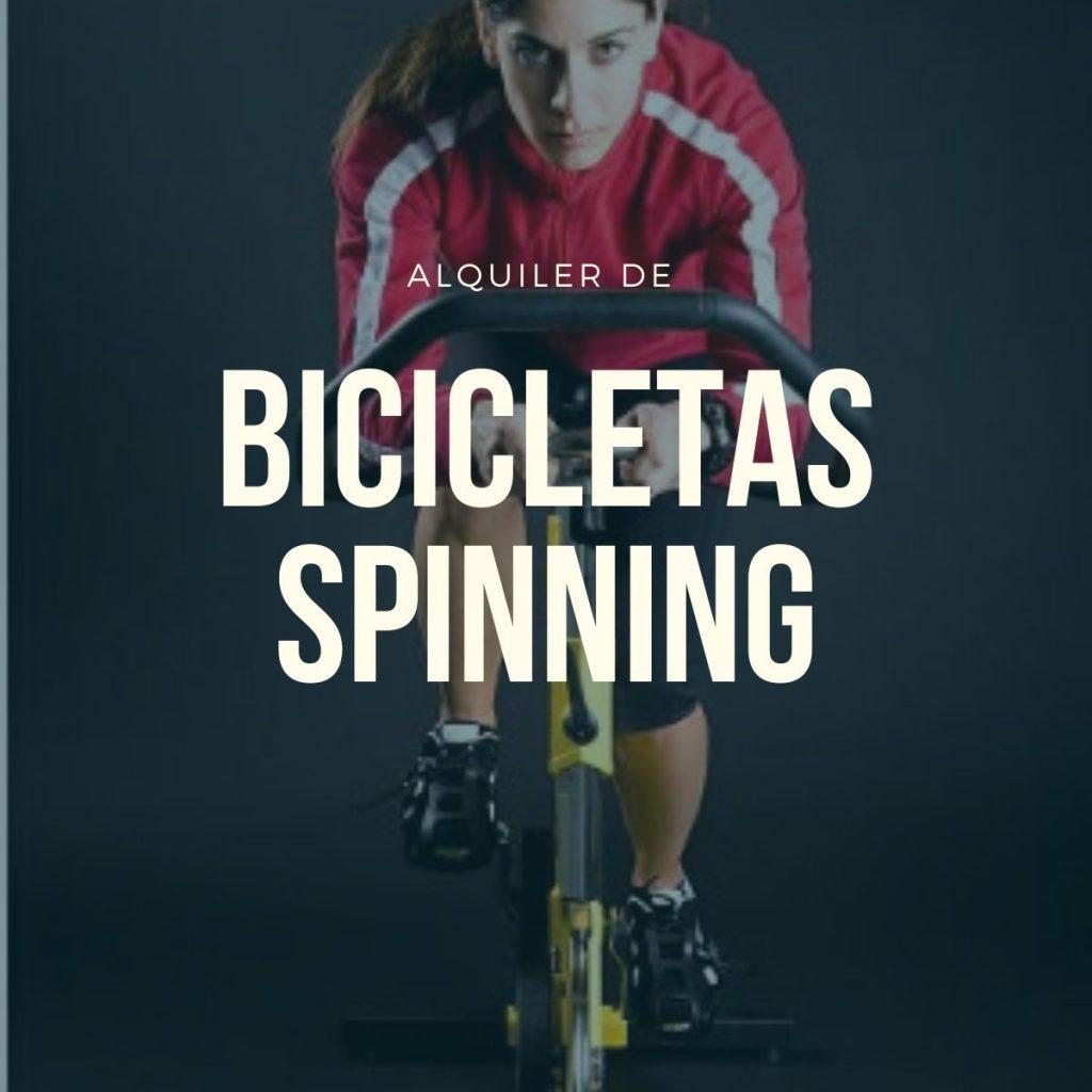 alquiler bicicletas spinning