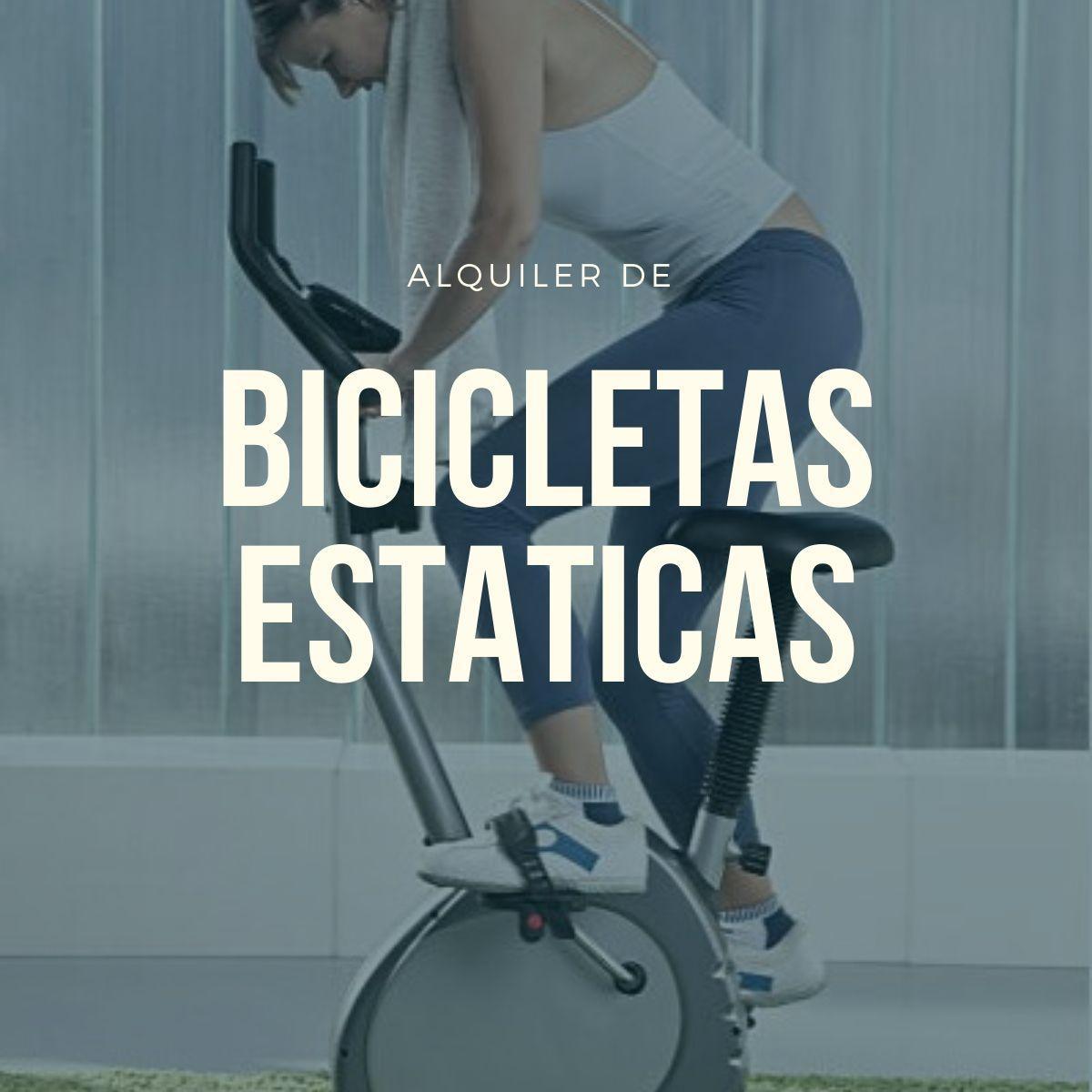alquiler bicicletas estaticas